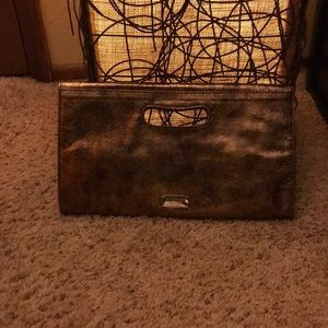 Nine West Metallic Clutch Purse